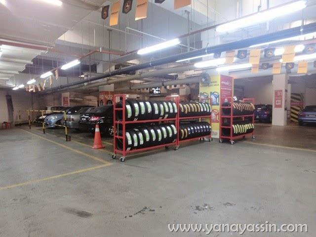 CitiCars Service Kereta Paradigm Mall