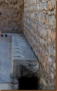 Ephesus, communal toilets