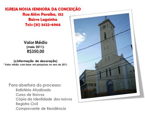 GUIA - CATOLICA - IGREJA NOSSA SENHORA DA CONCEICAO