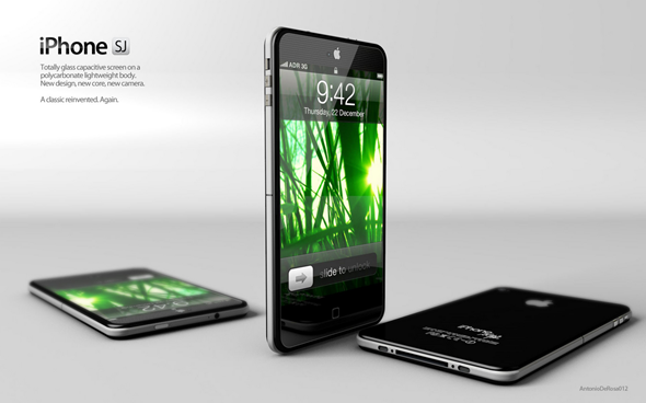 Konsep iPhone 5 – iPhone SJ