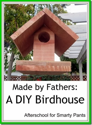 A DIY Birdhouse