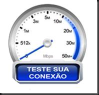 Teste velocidade da iternet - minha conexão