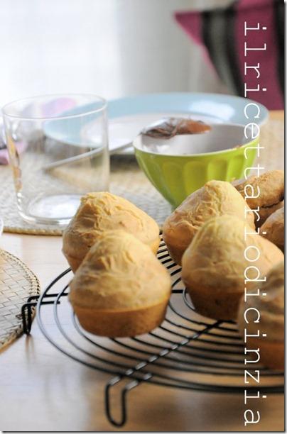 crumpies di Jamie Oliver con crema Nerogianduia (una Nutella super speciale)