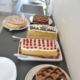 Desserten, lagkage buffet