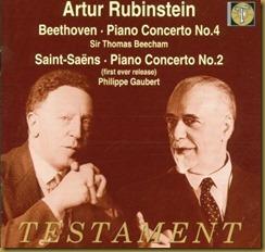 Beethoven concierto 4 Rubinstein Beecham