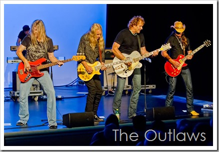 The Outlaws - Another Great Shot from a Great Night at the Wildey Theatre
