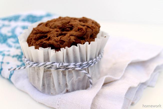 Chocolate Chocolate Chip Cookies via homework (7)