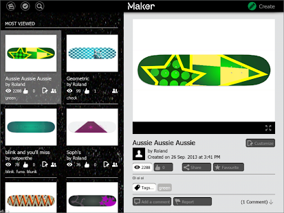 Maker Custom Skateboards - screenshot