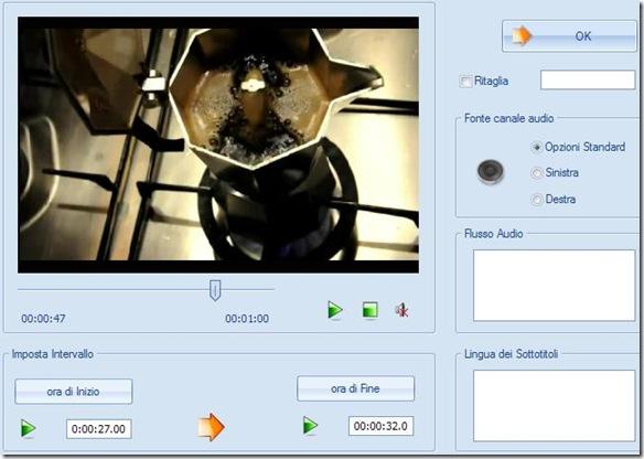 FormatFactory tagliare spezzone video