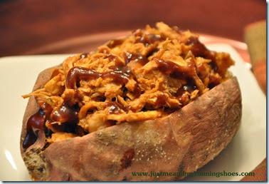 BBQ Chicken Stuffed Sweet Potatoes (5)