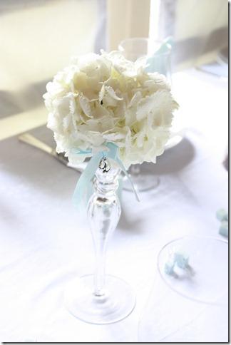 barnedåp inspirasjon baby gutt blå borddekking blomster IMG_2509