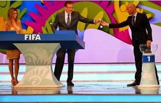 Tirage de la 20e phase finale de la Coupe du Monde 2014 La Belgique, la Corée du Sud et la Russie pour l'Algérie