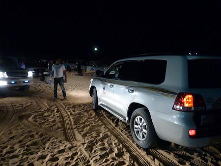 Dubai Desert Safari: plecarea din tabara