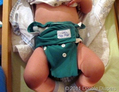 Cloth diaper faux pas