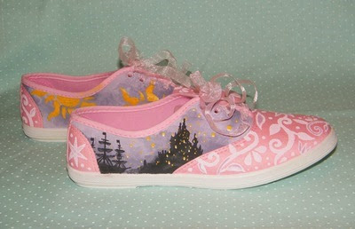 Rapunzel Sneakers from Garden of Imagination