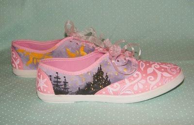 Rapunzel Sneakers from Garden of Imagination