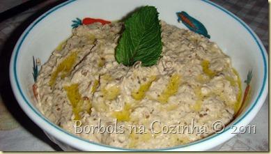 Baba Ganoush pasta de berinjela