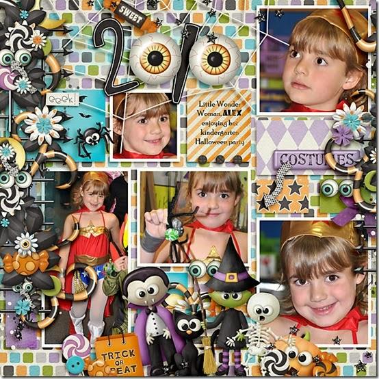 2010 Alex Kindergarten Halloween