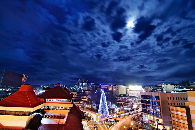 Night Sky in Baguio City