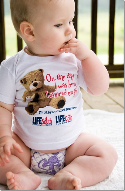 cord blood donation shirt
