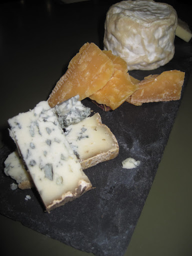 The Aged Gouda (second from front) was the third cheese tasted and worked perfectly with the Golden Monkey Black Tea. The Valdeon Blue from Spain (in front) paired with the Gloucester Street Blend.