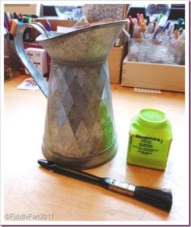 Decopatch jug