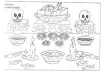 dia de los muertos colorear  buscomagenes   (4)
