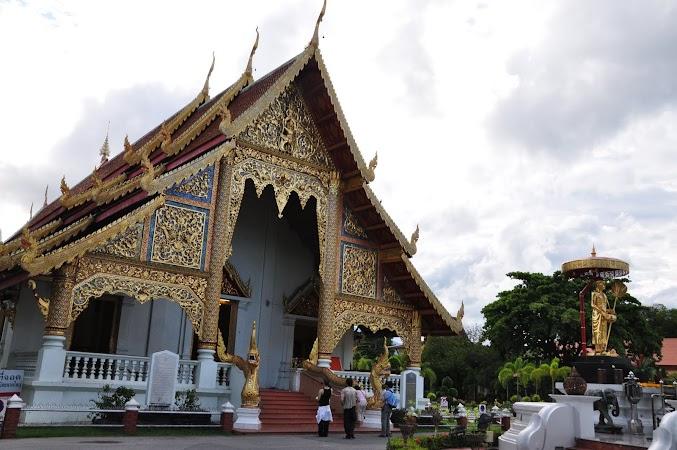 Imagini Thailanda: Templul Wat Phra Singh din Chiang Mai, Thailanda