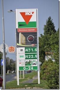 033-prix des carburants Hongrie