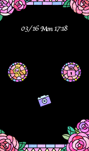 Cute wallpaper★Stained Glass - screenshot