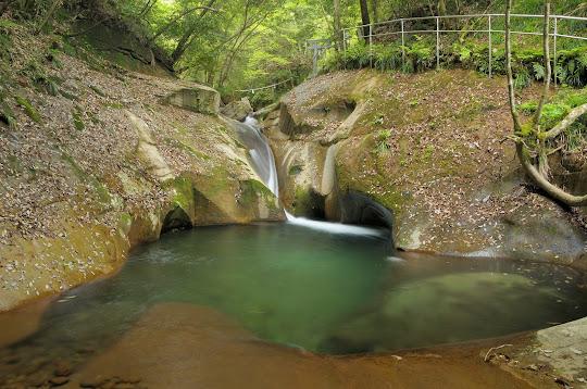 竜鎮の滝 | がんでんの館