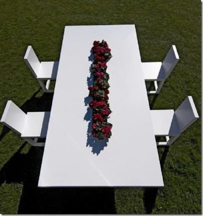 meubles de jardin moderne