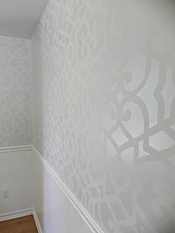 royal design studio stencilled wall