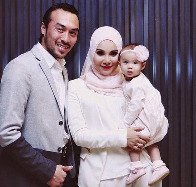 Comel Giler Kayla Elayna Anak Perempuan Khairul Fahmi Dan Leuniey Foto No 3 Paling Comel