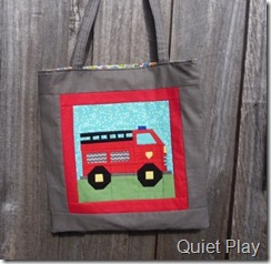 Fire truck bag