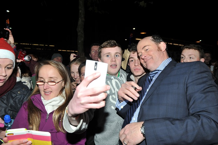 Dublin – 9th December 2013: David Koechner attends the Dublin Premiere of Anchorman 2 – Credit: Clodagh Kilcoyne for Paramount Pictures International via Getty Images