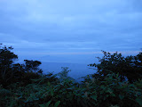 Dawn view from the summit of Gunung Pesagi (Dan Quinn, October 2012)