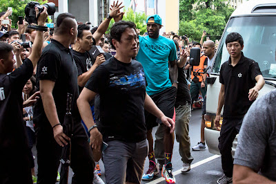 other event 140724 lebron rise tour asia 1 02 LeBron James Sneaker Rotation During 2014 Rise Tour in Asia