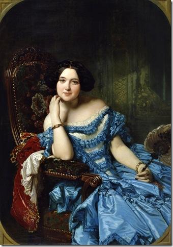 Federico de Madrazo - Amalia de Llano y Dotres condesa de Vilches -