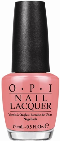 OPI Sorry I'm Fizzy Today (inspired by Vanilla Coke)