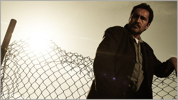 Demián Bichir as Det. Marco Ruiz in THE BRIDGE. CLICK to visit the official show site.