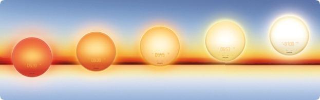 Philips-Wakeup-Light-Sonnenaufgang