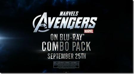 The Avengers กำหนดออกแผ่น(เมืองนอก) เดือนกันยายนนี้