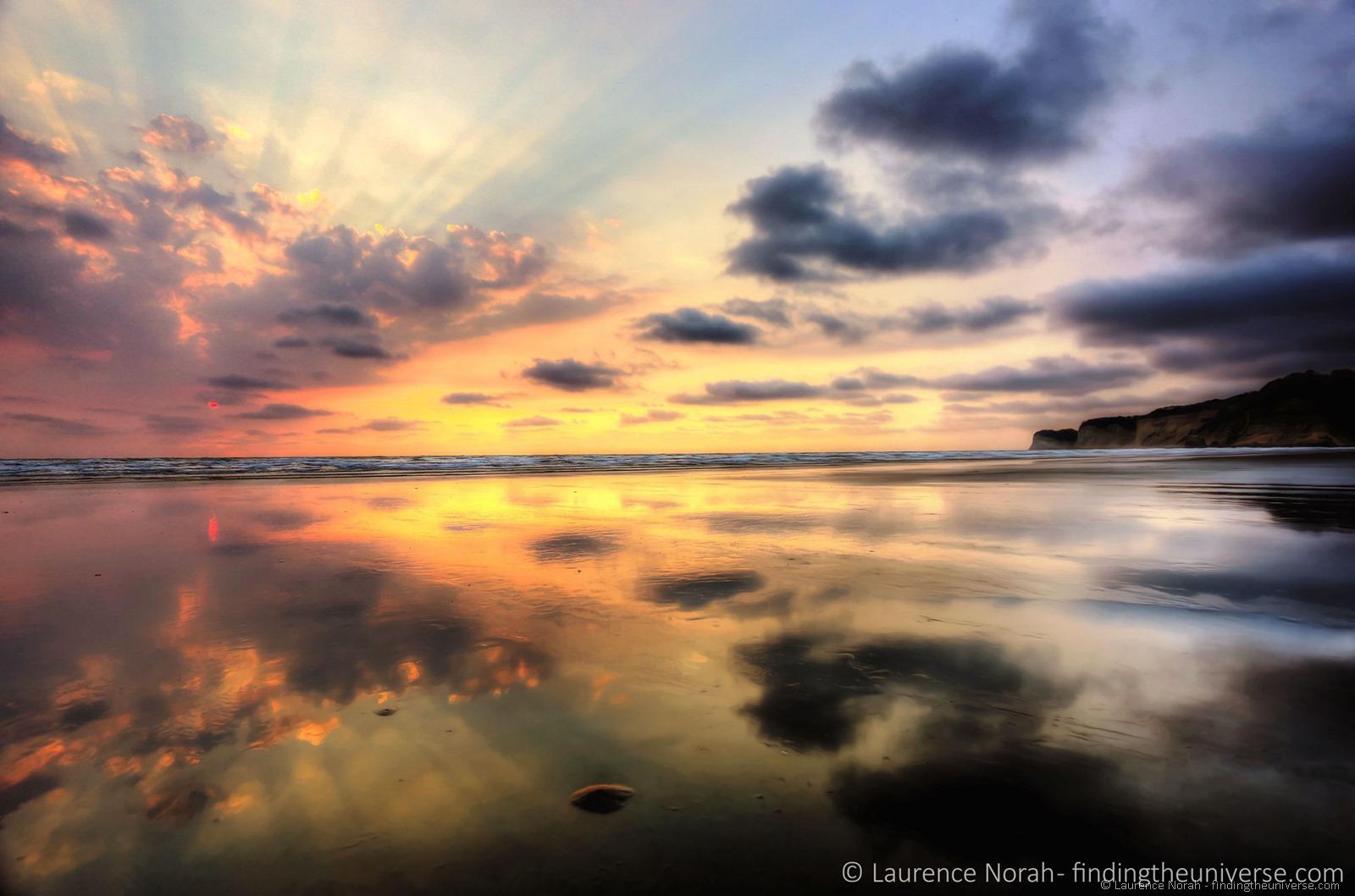 Canoa tramonto 2 in scala