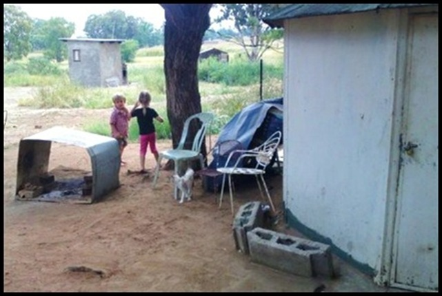 White miners live in poverty while looted goldmine owners Mandea Zuma live in luxury