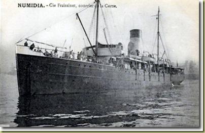 numidia sailing