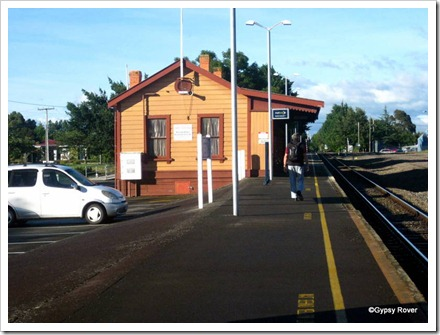 Carterton Railway Station.