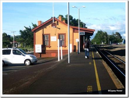 Carterton Railway Station.