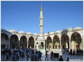 Голубая мечеть, внутренний двор. Стамбул. Турция.Фото Косарева Н. www.timeteka.ru