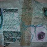 Viola , Book Wrap 09 Fabrics, Paper, Embroidery